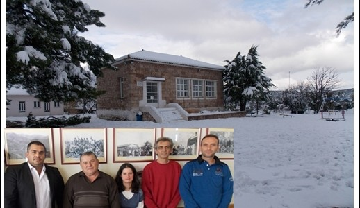 Σχολείο χιονισμένο