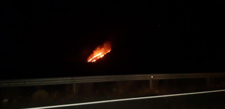 Πυρκαγιά στο Παρθένι δήμου Τρίπολης.