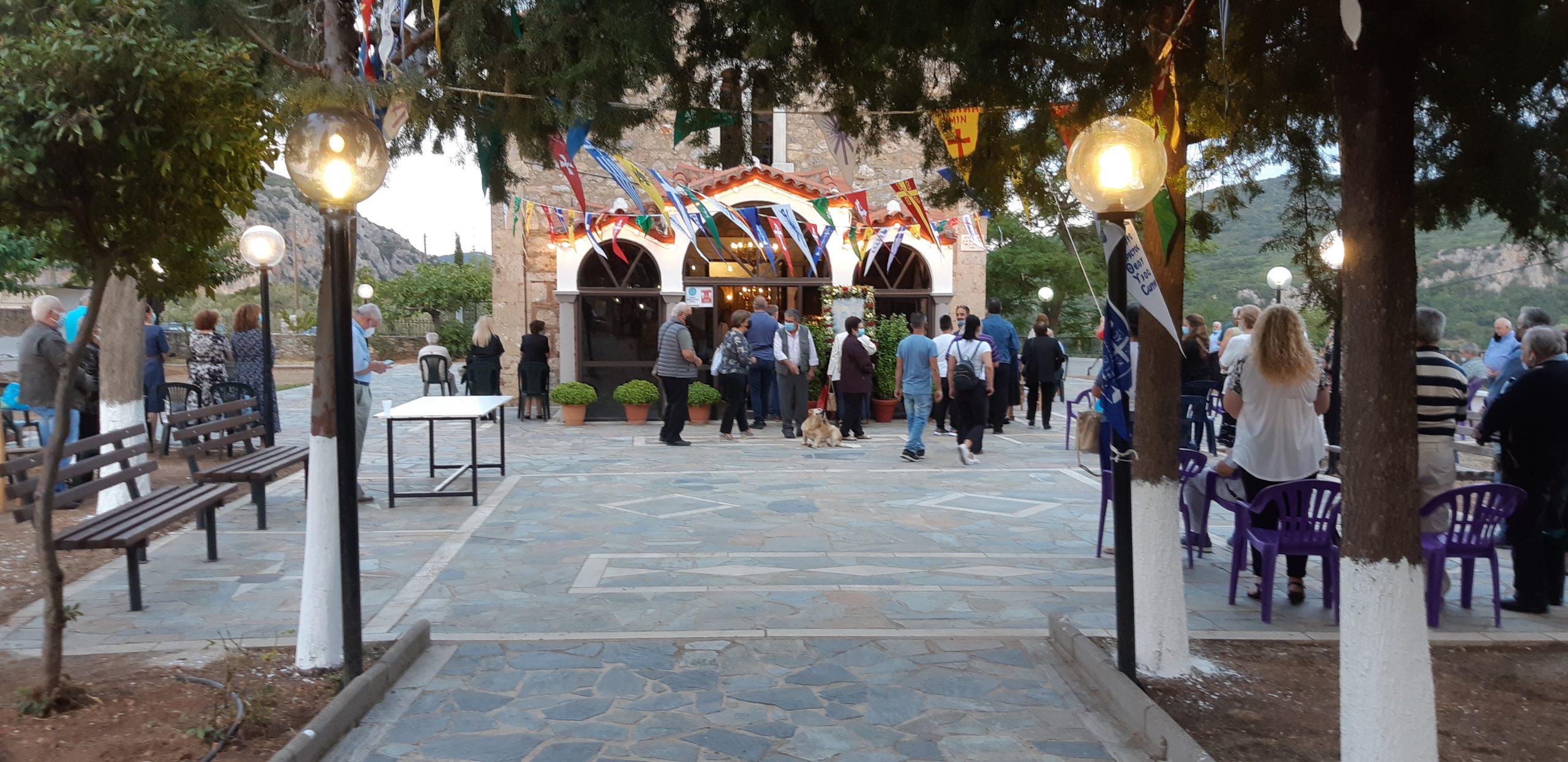 Εορτασμός της προστάτιδας του χωριού μας Αγίας Σοφίας.